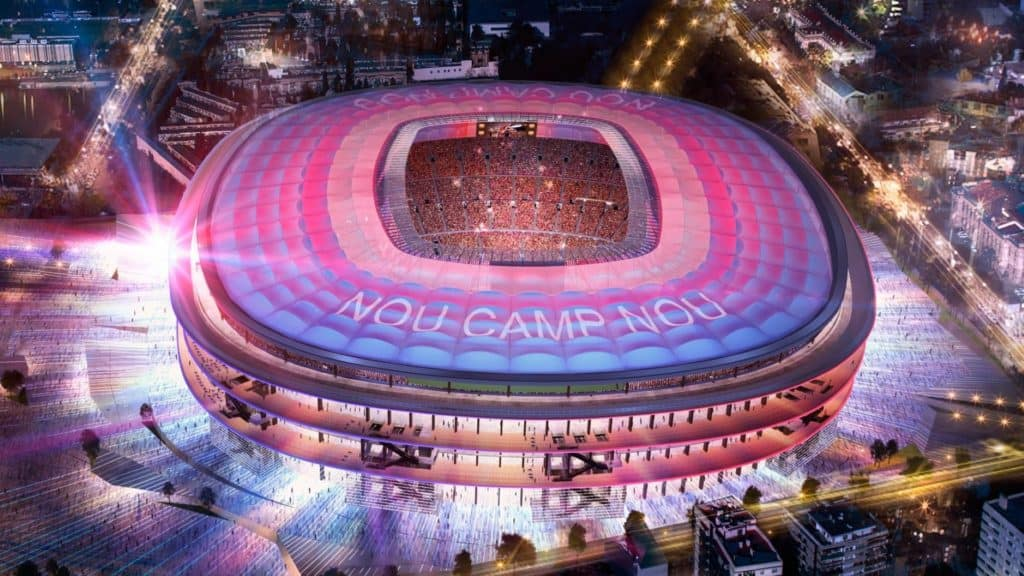 Camp Nou FC Barcelona Stadium